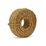 3-Strand Manila Rope 3/8 in. x 100 ft. Natural-CWC 156023