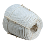 3-Strand Cotton Halter Rope 1/4 in. x 1200 ft. White-CWC 210010