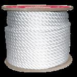 3-Strand Nylon Rope 1-1/2 in. x 600 ft. White-CWC 315200