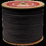 3-Strand Polypropylene Rope 1/4 in. x 2400 ft. Black-CWC 301067