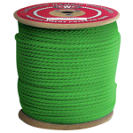 3-Strand Polypropylene Rope 3/4 in. x 600 ft. Green-CWC 301136