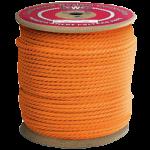 3-Strand Polypropylene Rope 3/4 in. x 600 ft. Orange-CWC 301316