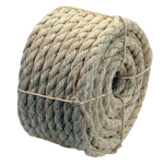 3-Strand Sisal Rope 1/4 in. x 50 ft. Natural-CWC 157010