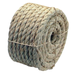 3-Strand Sisal Rope 3/8 in. x 100 ft. Natural-CWC 157035