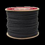 3-Strand Polypropylene Rope 1 in. x 600 ft. Black-CWC 301105