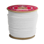 3-Strand Polypropylene Rope 3/8 in. x 600 ft. White-CWC 301148