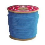 3-Strand Polypropylene Rope 3/8 in. x 600 ft. Blue-CWC 301210