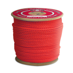 3-Strand Polypropylene Rope 3/4 in. x 600 ft. Red-CWC 301307
