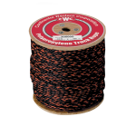 California Truck Rope 1 in. x 600 ft. Black W/Orange Tracer-CWC 305045