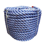"CWC BLUE STEEL™ Rope - 1-3/4"" x 600' Purple W/Org Tracer"