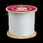3-Strand Nylon Rope 2 in. x 600 ft. White-CWC 315220