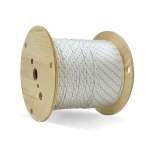 Double Braid Nylon Rope 1/4 in. x 600 ft. White-CWC 345015
