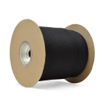 Double Braid Nylon Rope 1/4 in. x 600 ft. Black-CWC 345099