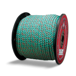 California Truck Rope 1/2 in. x 600 ft. Teal W/Orange Tracer-CWC 405415