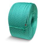 BLUE STEEL™ Floating Crab Rope 5/8 in. x 1200 ft. Teal W/Dark Blue Tracer-CWC 415312
