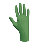 SHOWA 6110PF Biodegradable Nitrile Gloves, S