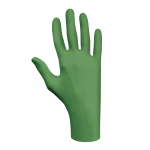 SHOWA 6110PF Biodegradable Nitrile Gloves, M