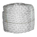 8-Braid Poly Dacron Rope 2-1/2 in. x 600 ft. White-CWC 325188