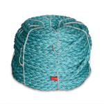 8 Braid BLUE STEEL™ Rope 1-1/2 in. x 600 ft. Teal W/Dark Blue Tracer-CWC 402137