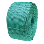 BLUE STEEL™ Fishing Rope 3/8 in. x 1800 ft. Teal W/Dark Blue Tracer-CWC 430125