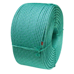 BLUE STEEL™ Fishing Rope 5/16 in. x 1800 ft. Teal W/Dark Blue Tracer-CWC 430215