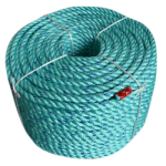 BLUE STEEL™ Rope 1/8 in. x 1200 ft. Teal W/Dark Blue Tracer-CWC 402005