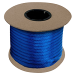 Braided MFP Halter Rope 27/64 in. x 300 ft. Blue-CWC 115345