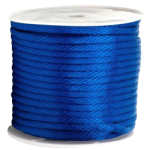 Braided MFP Halter Rope 27/64 in. x 500 ft. Blue-CWC 115702