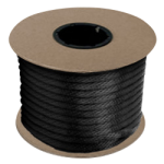 Braided MFP Halter Rope 3/8 in. x 500 ft. Black-CWC 115313