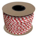 Braided MFP Halter Rope 3/8 in. x 500 ft. Red & White-CWC 115325