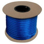Braided MFP Halter Rope 5/8 in. x 200 ft. Blue-CWC 115410