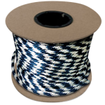Braided MFP Halter Rope 5/8 in. x 200 ft. Navy & White-CWC 115453