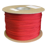 Braided Polyester Fishing Rope .075 in. x 500 yds Red-CWC 503077