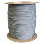 Braided Polyester Fishing Rope .095 in. x 500 yds Gray-CWC 503086