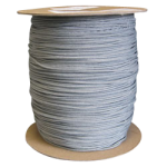 Braided Polyester Fishing Rope .155 in. x 500 yds Gray-CWC 503116