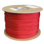 Braided Polyester Fishing Rope .155 in. x 500 yds Red-CWC 503113