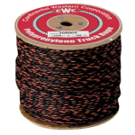 California Truck Rope 1/2 in. x 1200 ft. Black W/Orange Tracer-CWC 305030