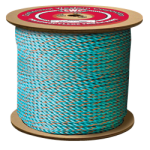 California Truck Rope 1 in. x 600 ft. Blue W/Orange Tracer-CWC 305050