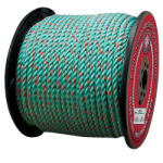 California Truck Rope 1 in. x 600 ft. Teal W/Orange Tracer-CWC 405430
