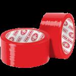 """Carton Sealing Tape 2 mil 2"""" x 110 yds Red-CWC 058209"""