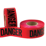 "Caution Tape 1.5 mil 3"" x 1000' Danger Tape-CWC 059312"