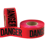 "Caution Tape 2.4 mil 3"" x 1000' Danger Tape-CWC 059425"