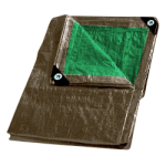 Combo Tarp 10' x 12' Brown & Green-CWC 070810