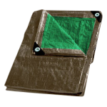 Combo Tarp 8' x 10' Brown & Green-CWC 070808