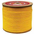 Conduit Rope 1/4 in. x 2400 ft. Yellow-CWC 304045