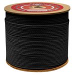 Conduit Rope 1/4 in. x 4000 ft. Black-CWC 304053