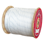Double Braid Nylon Rope 1-1/2 in. x 600 ft. White-CWC 346130