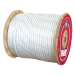 Double Braid Nylon Rope 3/8 in. x 600 ft. White-CWC 345035
