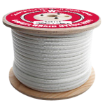 Double Braid Nylon Rope 7/16 in. x 600 ft. White-CWC 345108