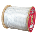 Double Braid Nylon Rope 7/8 in. x 600 ft. White-CWC 346107